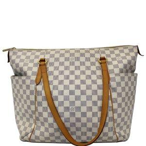 LOUIS VUITTON Totally GM Damier Azur Tote Bag